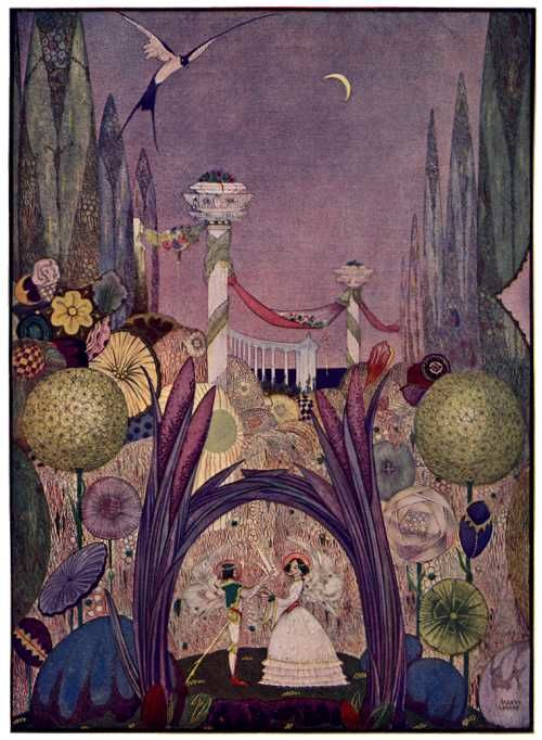 Kay Nielsen Purple and Green
