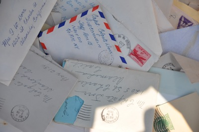 Box of old letters