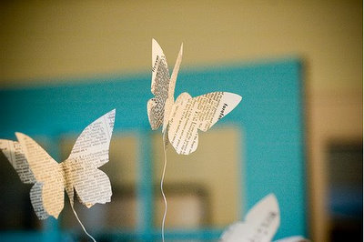 Paper Butterfly via Royal Buffet