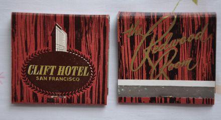 Clift Matchbook Hotel