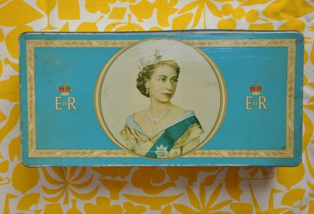 Elizabeth II Tea Tin