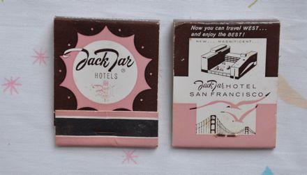 Jack Jar Match Books