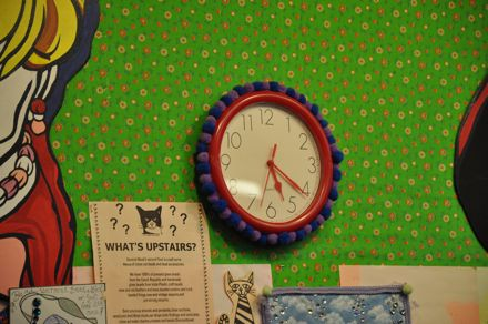Pom Pom clock