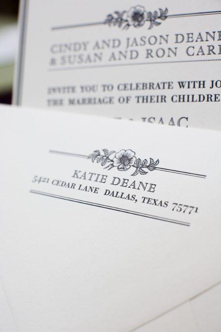 Wildwood Wedding Invitation