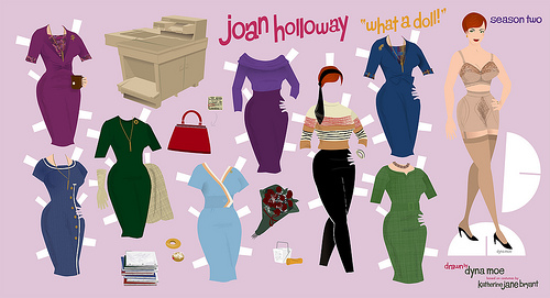 Joan Holloway Paper Doll Season 2