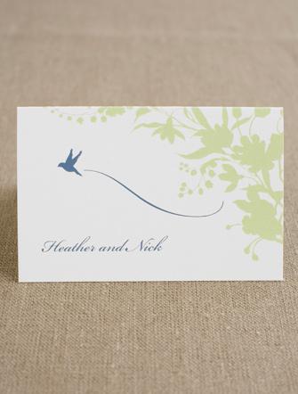 L'Oiseau Thank You Card