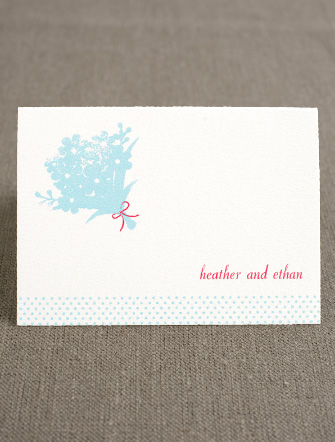 Sweetheart Thank You Card