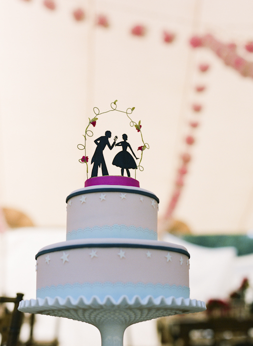 Hello!Lucky Wedding Cake