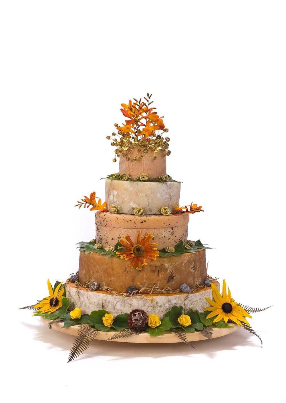 Cheese wedding cakes HelloLucky