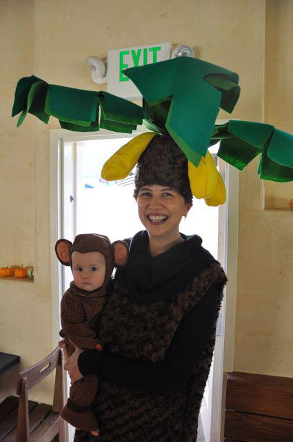 Bannana_tree&monkey_Halloween