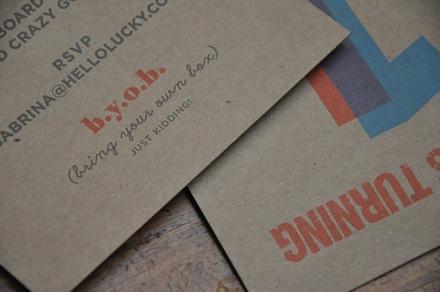 James alexs cardboard box birthday hellolucky byob stopboris Image collections