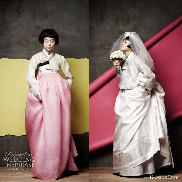 Korean Wedding Gift Etiquette : hanbok , traditional Korean wedding outfit, gets modernized (and ...