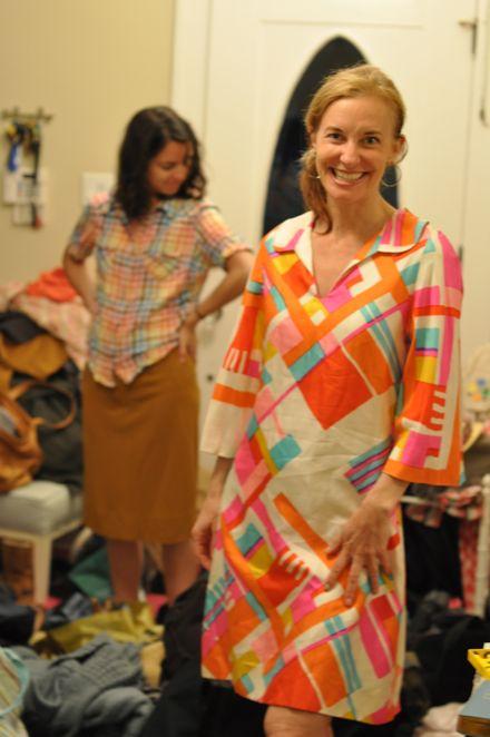 Pucci-esque Vintage Dress