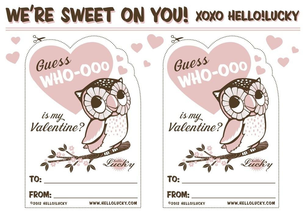 image regarding Free Printable Vintage Valentine Cards named Howdy!Fortuitous