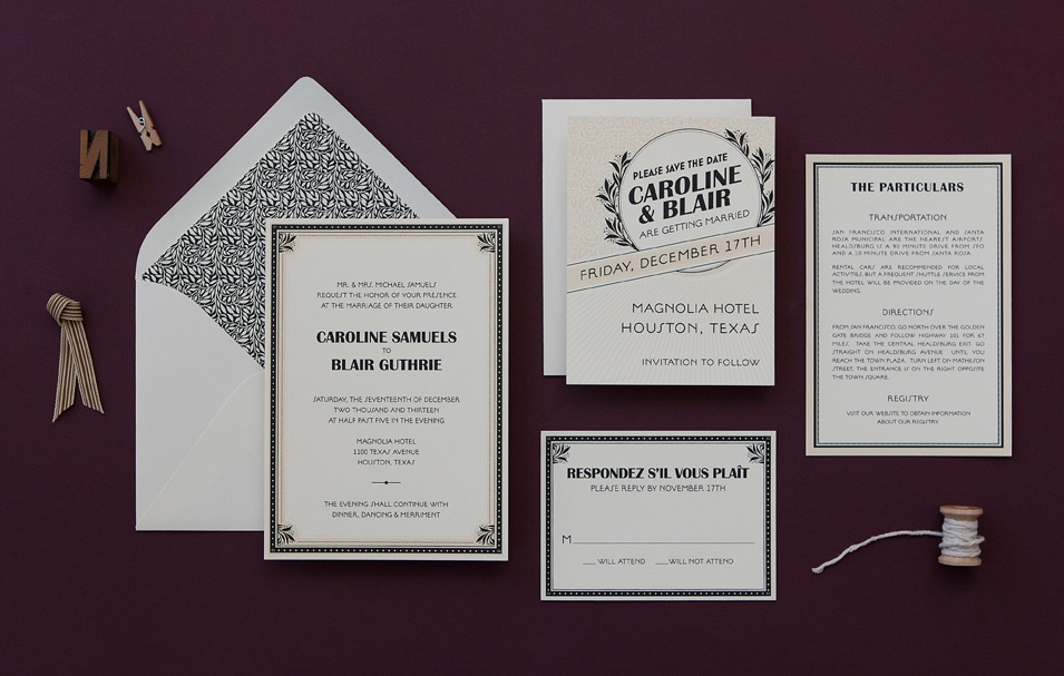 1920S Wedding Invitation guitarreviewsco