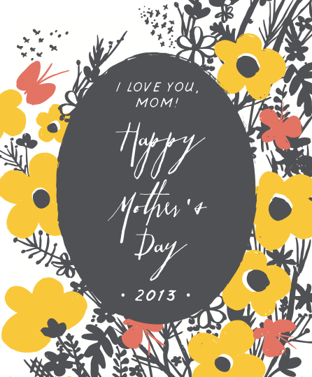 Free Mothers Day Printables HelloLucky – Free Wine Label Design