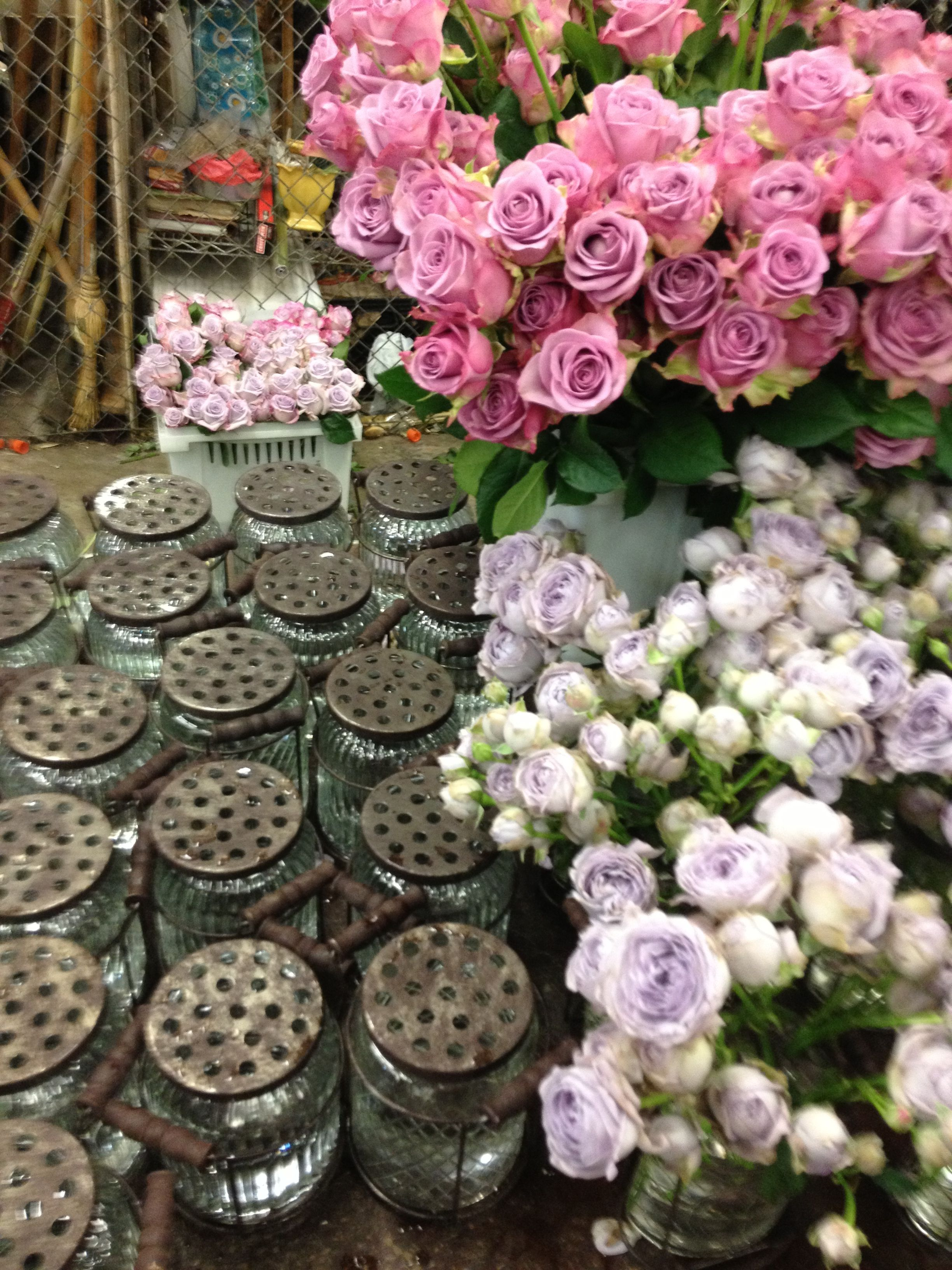 A Trip to the Flower Mart — Hello Lucky