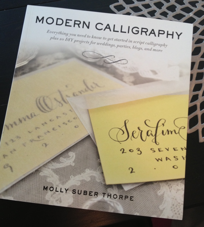 Book Review Modern Calligraphy Hello Lucky
