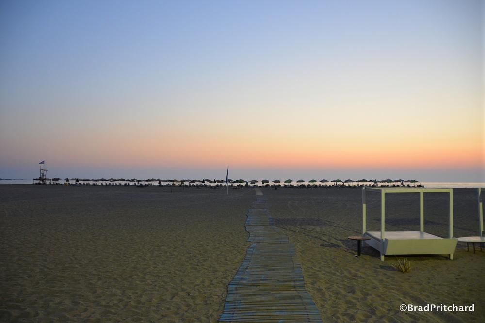 Falassama Beach, western Crete at twilight