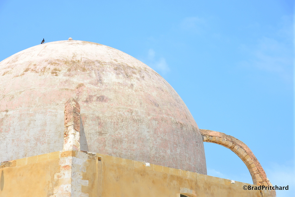 Old Chania: The roof of the Giali Tzamisi Mosque