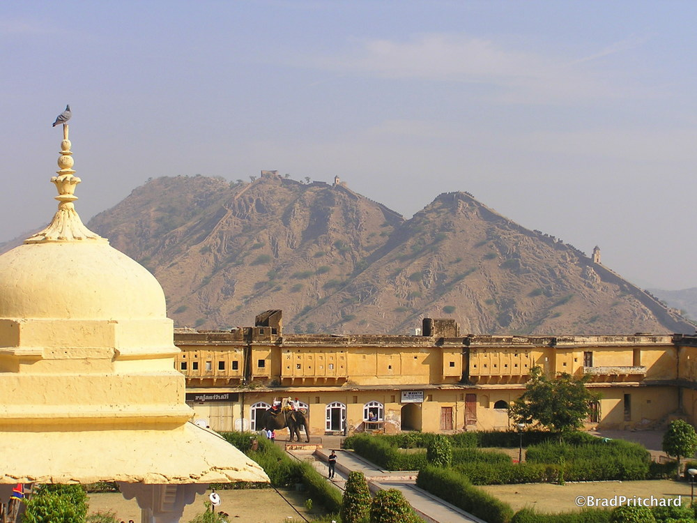 Amer Fort in Jaipur, built in 1592