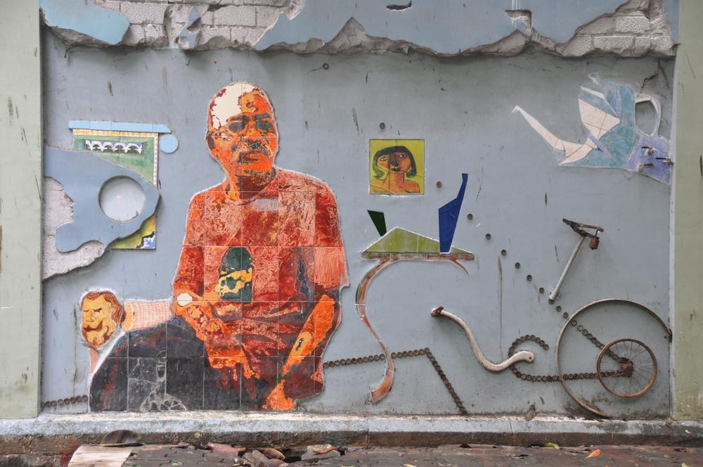 Dali like street art