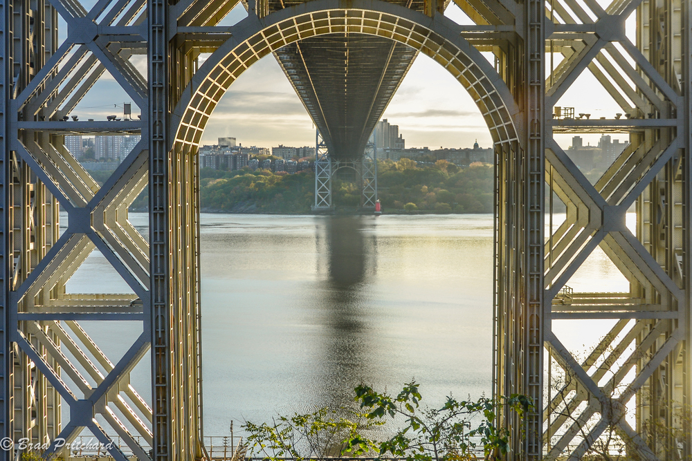 The George Washington Bridge from Palisades Interstate Park - 11/14