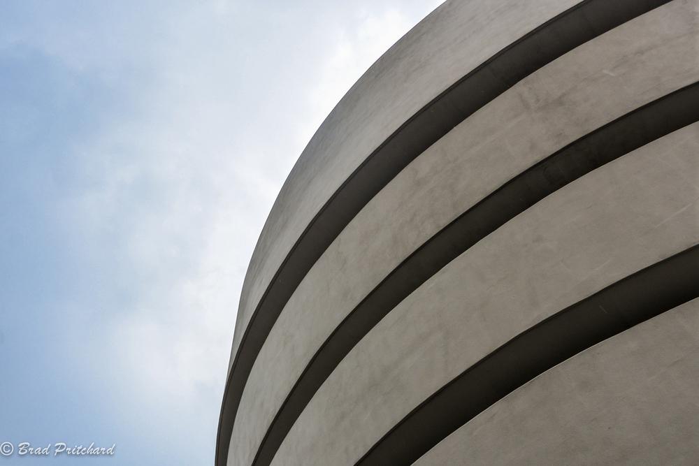 Solomon R. Guggenheim Museumexterior, New York City - July 2014