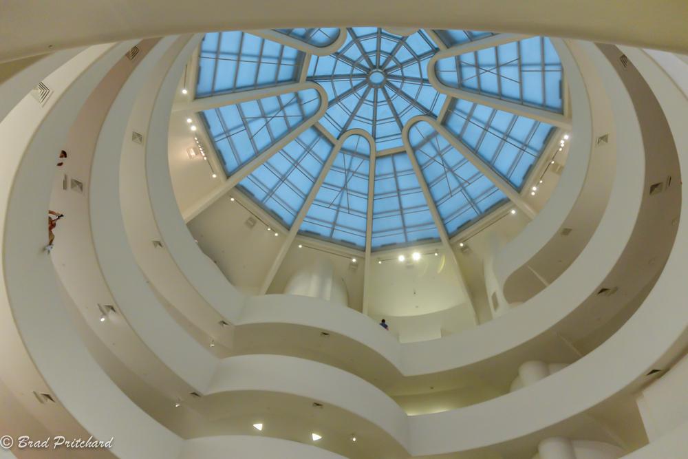 Solomo  n R. Guggenheim Museum inter  ior, New York City - July 2014