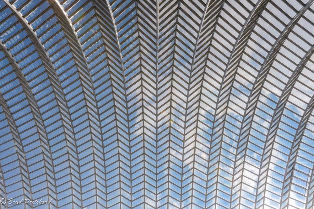 Ceiling of the Kimmel Center, Philadelphia, August 2014
