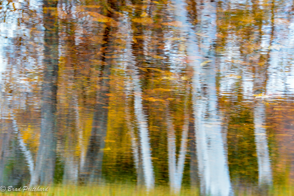Fall Reflection, Stratton, Vermont, October 2014