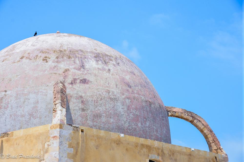 Mosque Yiali Tzami, Chania, Crete, July 2013