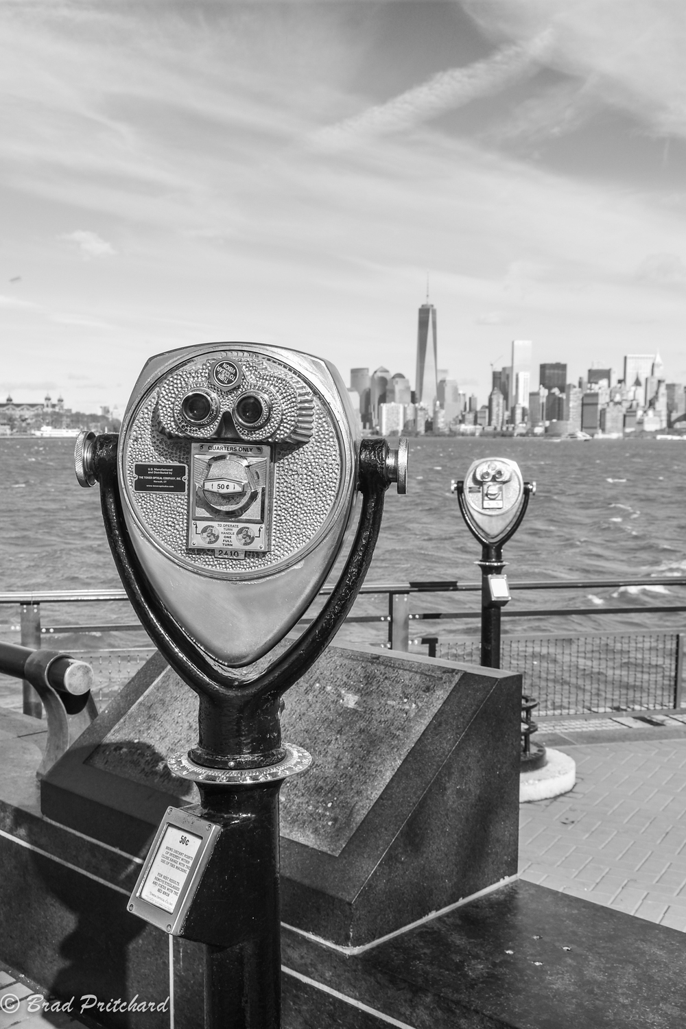NYC from Liberty Island, November 2014