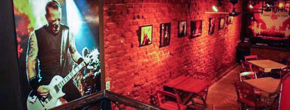 Inside theCalabouço Rock& RollBar