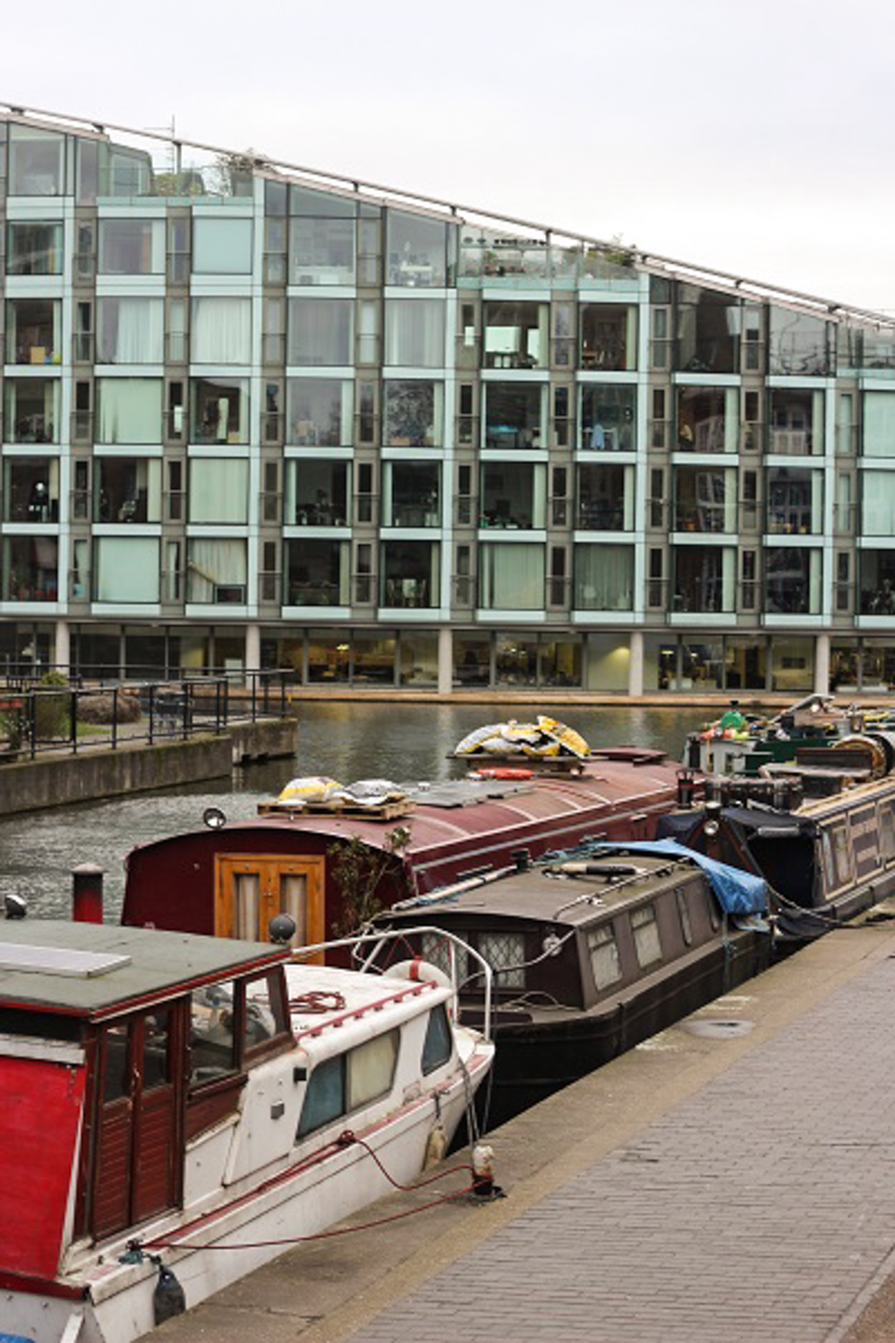 New apartments along the Regent's Canal