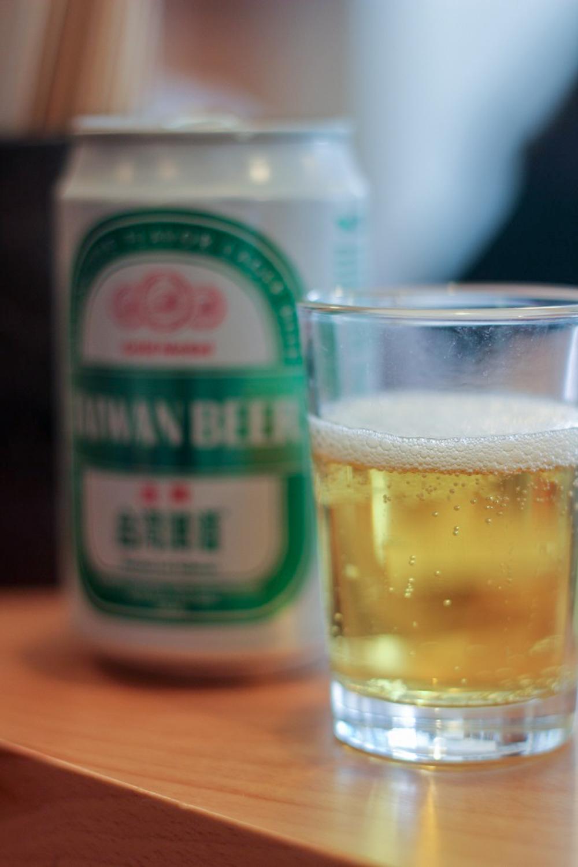 Taiwanese beer.