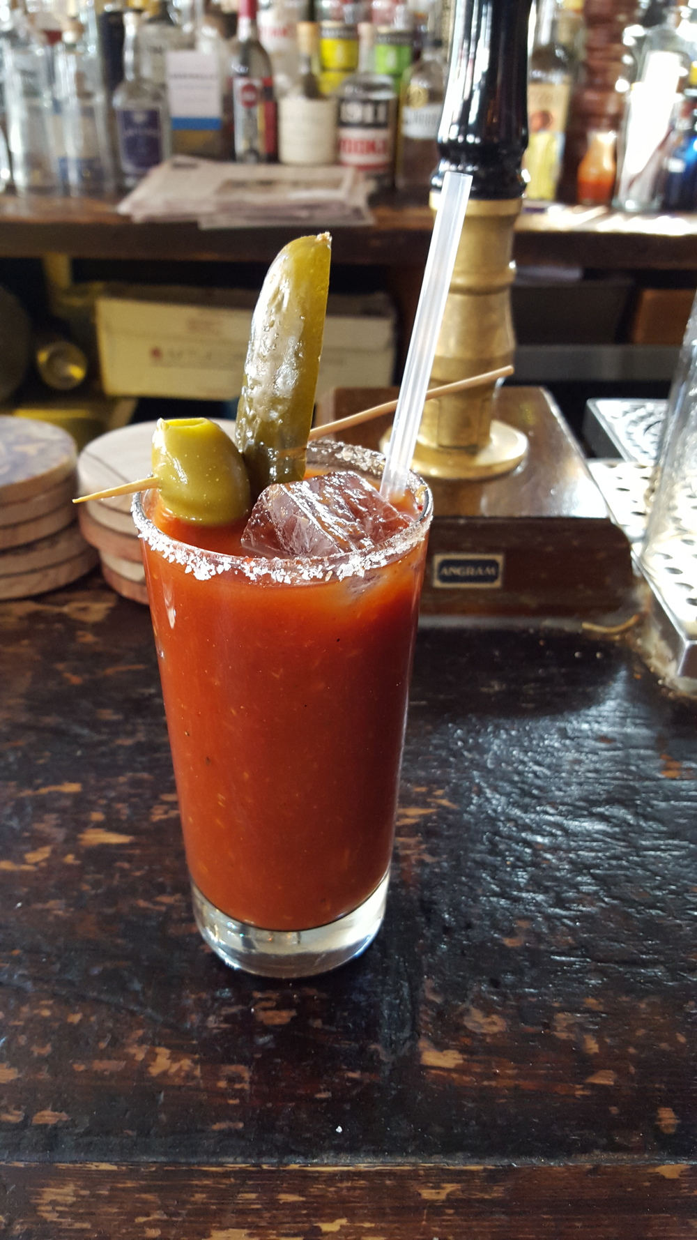 Smokey Tequila Bloody Mary