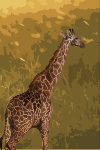 Painting Twiga