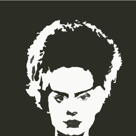 Bride Of Frankenstein Portrait