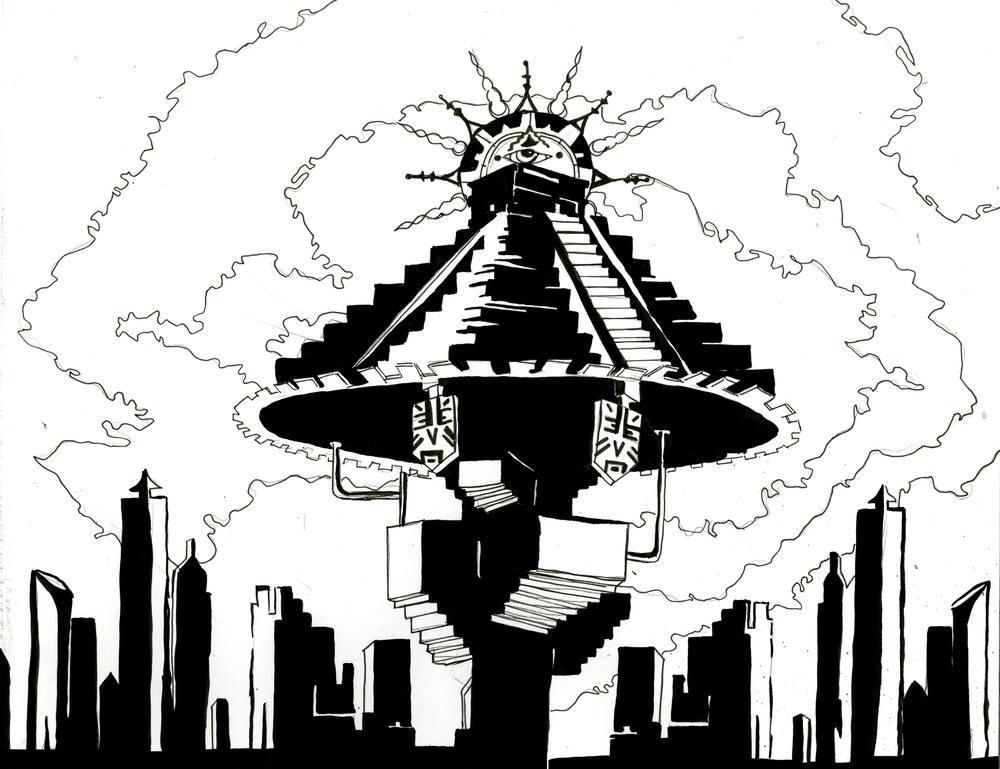 Mayan Civilization in the Future Ink
