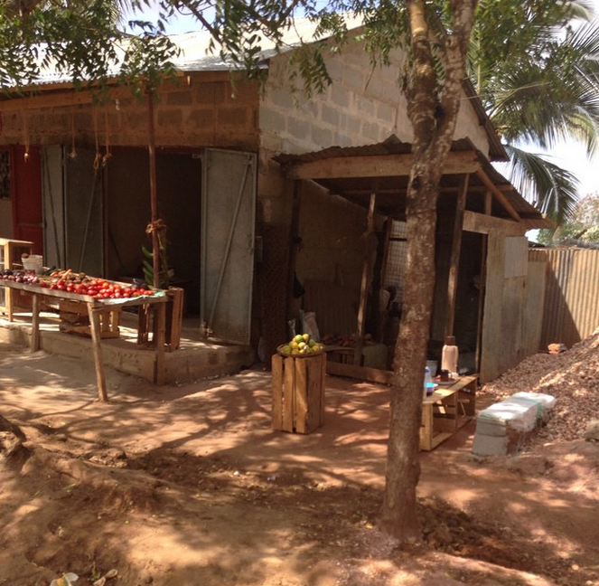 "In Madale itself there is not a lot of options with food so there are a few small shops which are made of clay buildings named Dukani's that in Swahili means ""store"". In Madale this is the closest Duka to Tegeta."