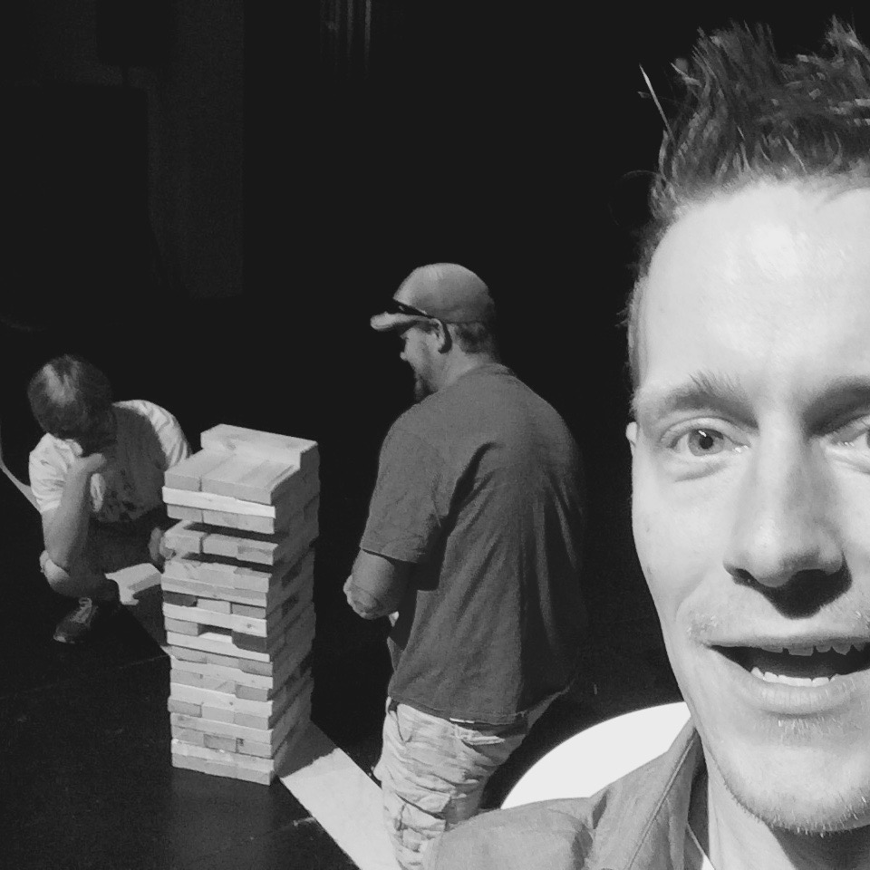 Centric Jenga Selfie