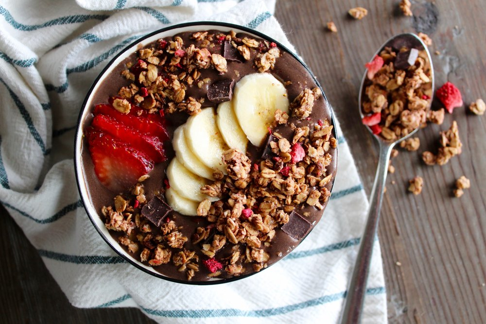 Chocolate Lover's Acai Bowl Recipe