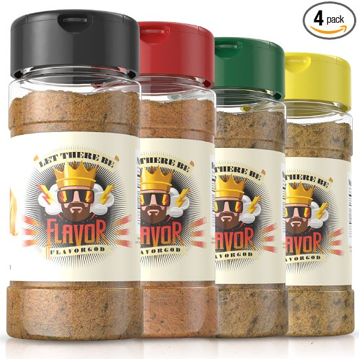 SEASONINGS PACK OF 4