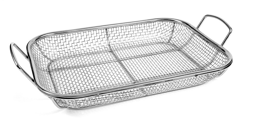 WIRE MESH ROASTING PAN