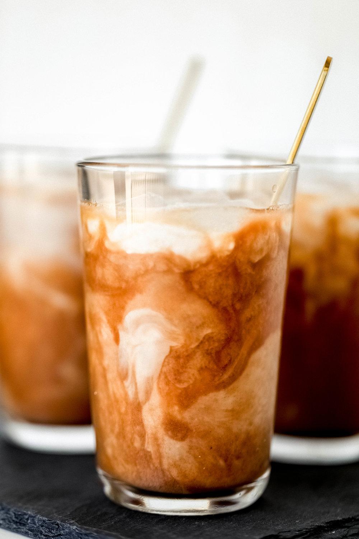 Iced Crio Brew - 80 calories / 10C / 4F / 1P