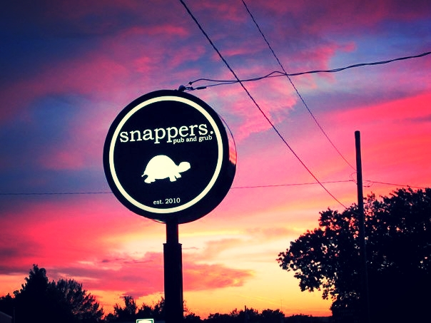 A beautiful summer sunset @ Snappers Pub & Grub, Hanover, KS
