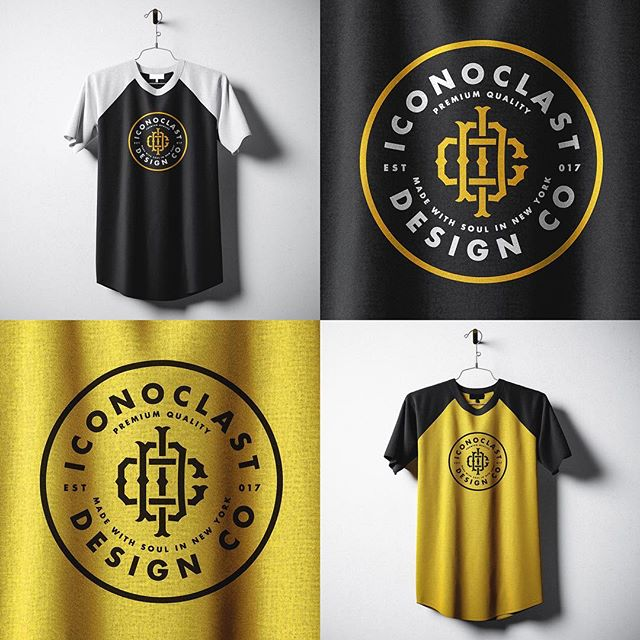 Torn between black/yellow/white and black/orange/white. Really feeling this combo though. Thoughts? . . . Iconoclast (noun): a person who attacks settled beliefs or institutions. . Made with soul in New York. . . . #design #branding #creativedirection #artdirection #graphicdesign #creative #designer #creativedirector #artdirector #graphicdesigner #artist #tshirtdesign #tshirt #musicindustry #logo #logos #identity #americanmade #brand #typography #creative #freelancer #freelance #streetwear #retro #brooklyn #newyork #nyc #losangeles #soul #madewithsoul