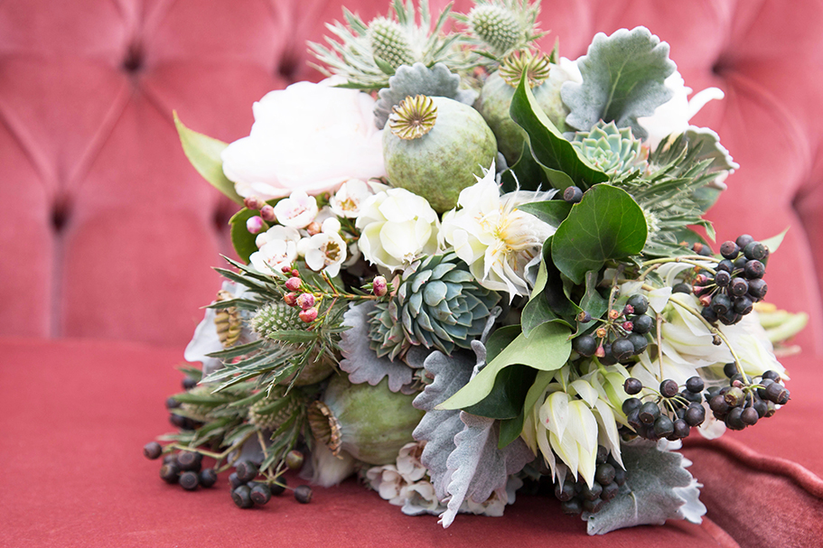 Bridal Bouquet from Fiddlesticks Floral Design