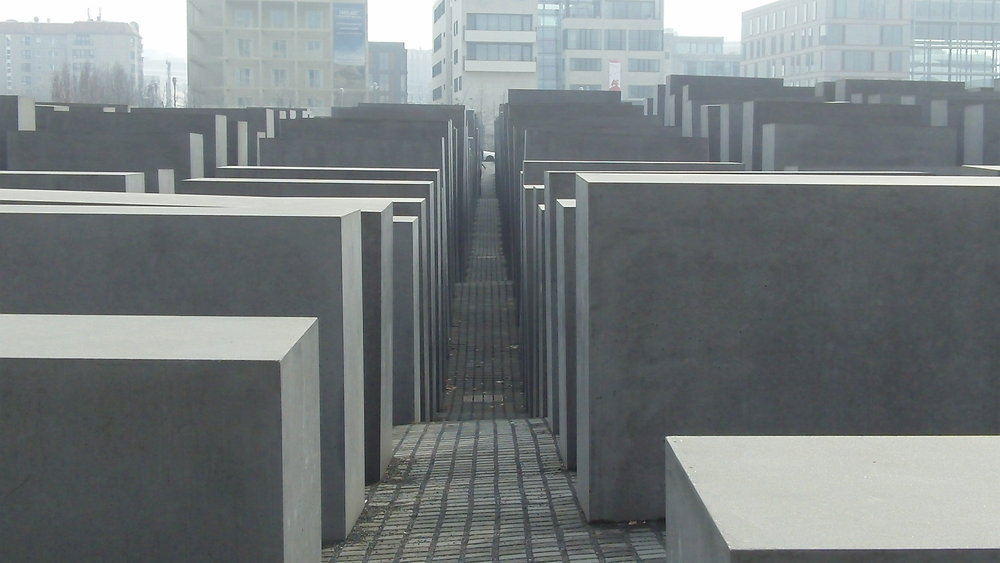 Peter Eisenman (Input from Richard Serra), Holocaust Memorial (2005) A profoundly impacting architectural installation that forces the viewer to cope with the magnitude of loss articulated through mass and abundance.